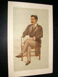 Vanity Fair Print 1894 Clement King Shorter